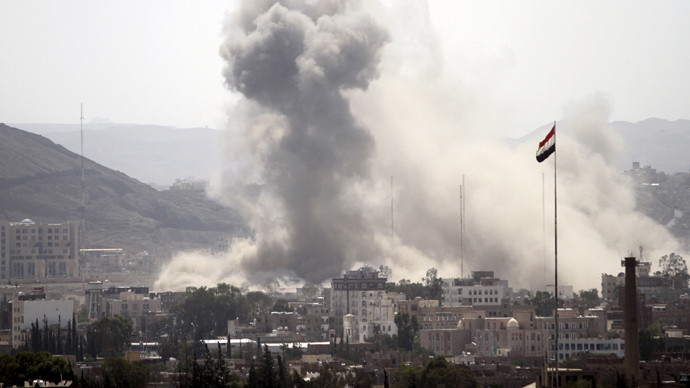 Saudi airstrikes kill 44, including 20 civilians, in Yemen's capital - reports