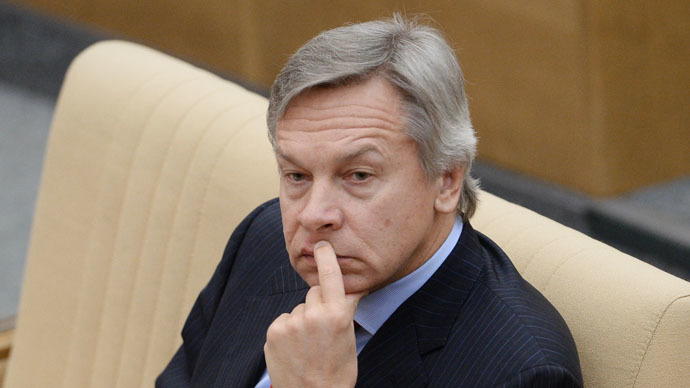 Chairman of the Russian State Duma Committee on International Affairs Alexei Pushkov (RIA Novosti/Vladimir Fedorenko)
