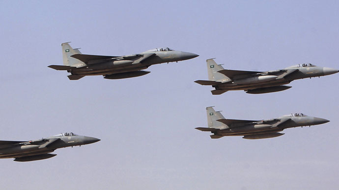 Royal Saudi Air Force jets (Reuters/Fahad Shadeed)