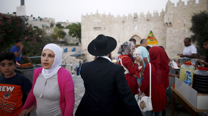 The Damascus Gate in Jerusalem's Old City. The US  Supreme Court struck down a law that would let American citizens born in Jerusalem have Israel listed in passports as the country of their birth. (Reuters / Ronen Zvulun)
