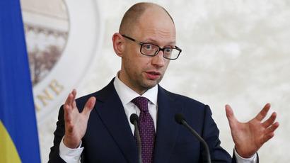 Ukraine's Prime Minister Arseny Yatseniuk (Reuters/Valentyn Ogirenko)