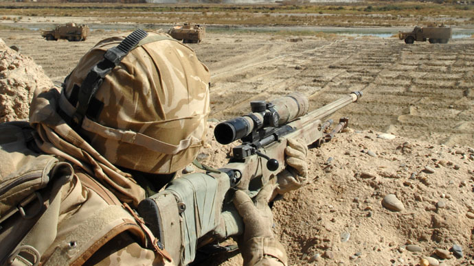 ​'Hung out to dry': Traumatized sniper with farthest confirmed kill slams British Army