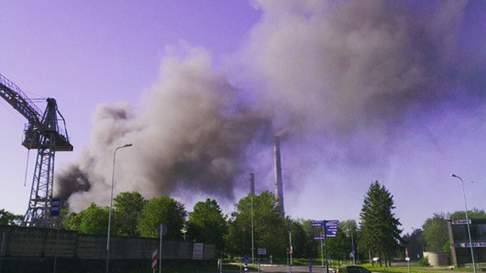 Estonia Rare Metals Plant Catches Fire Threat Of Toxic