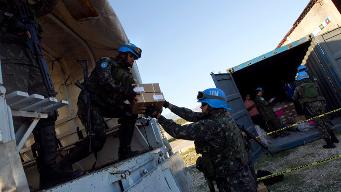 UN peacekeepers sexually abused hundreds of Haitian women & girls – report