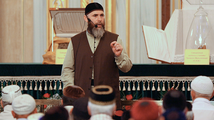 Salakh Mezhiyev, Mufti of the Chechen Republic (Reuters / Said Tsarnaev)