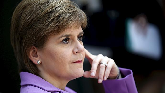 Scotland's First Minister Nicola Sturgeon (Reuters / Mike Segar)
