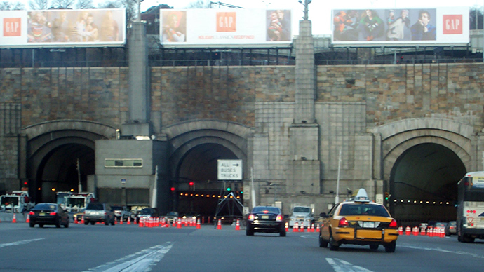 Lincoln Tunnel (Image from wikipedia.org)