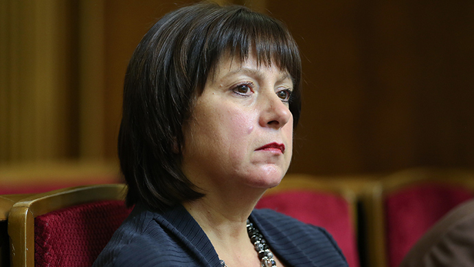 Head of the Ukrainian finance ministry Natalya Yaresko (RIA Novosti / Mikhail Polinchak)