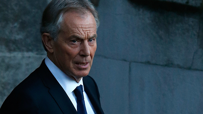 ​Tony Blair warns of 'severe defeat' if Labour moves left