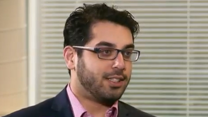 Raheem Kassam (Screenshot from RT video)