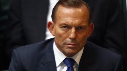 Australian Prime Minister Tony Abbott (Reuters / David Gray)