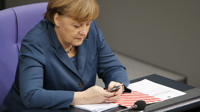 German Chancellor Angela Merkel (Reuters / Fabrizio Bensch)