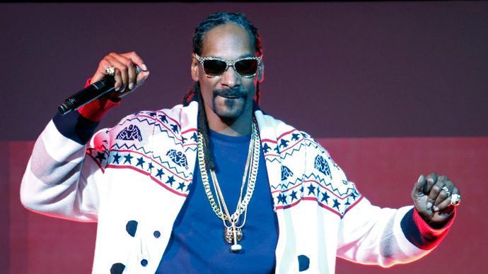 Rapper Snoop Dogg.(Reuters/Charles Platiau)