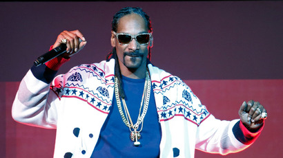 Rapper Snoop Dogg.(Reuters/Charles Platiau)