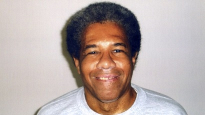 An undated picture released on June 10, 2015 by Amnesty International in Paris, shows Albert Woodfox, 68, who, after enduring more than four decades in solitary confinement and lengthy court battles to prove his innocence, was told on June 10, 2015, by a US appeal court he must wait a little longer in jail.  (AFP PHOTO / HO / AMNESTY INTERNATIONAL)