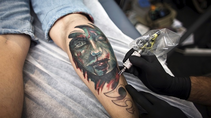 Tell-tale tattoo: US govt researching biometric ink recognition