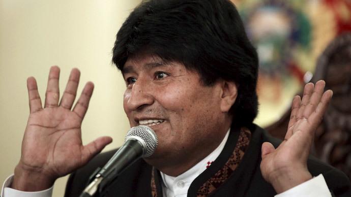 Bolivia's President Evo Morales.(Reuters / David Mercado )