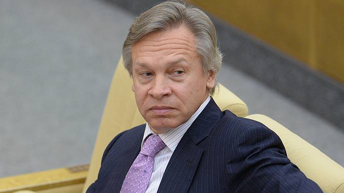 Alexey Pushkov, Chairman of the State Duma's International Affairs Committee (RIA Novosti / Vladimir Fedorenko)