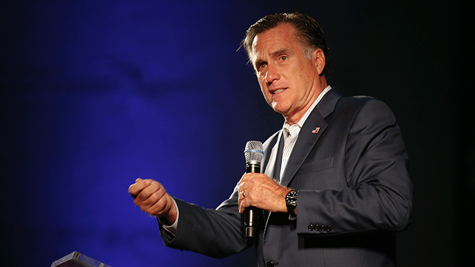 Former Massachusetts governor Mitt Romney (Reuters / Chris Keane)
