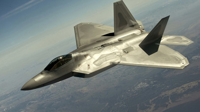 A F-22 Raptor fighter jet. (Reuters/U.S. Air Force/Staff Sgt. Christopher Hubenthal)
