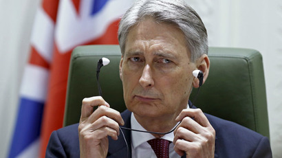 British Foreign Secretary Philip Hammond (Reuters/Faisal Al Nasser)