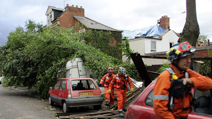 UK tornado capital of the world? Britain has most twisters per square mile, scientists discover