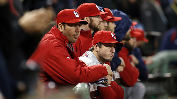 The St. Louis Cardinals lost the 2013 World Series to the Boston Red Sox, the same year they are accused of hacking the Houston Astros. (Reuters/USA Today Sports)