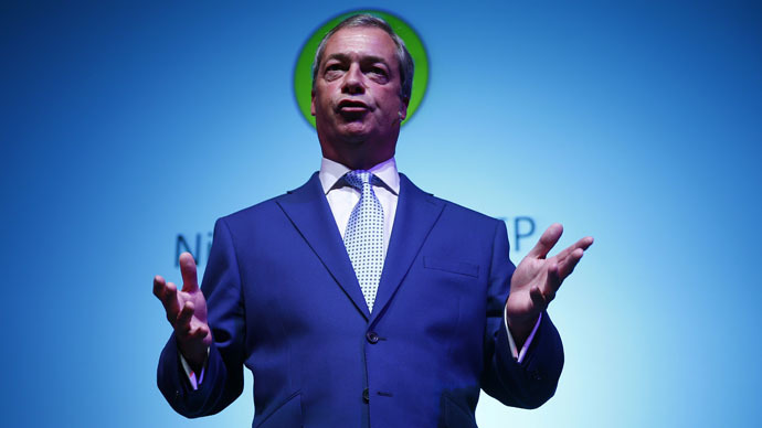 Leader of the United Kingdom Independence Party (UKIP) Nigel Farage (Reuters/Eddie Keogh)