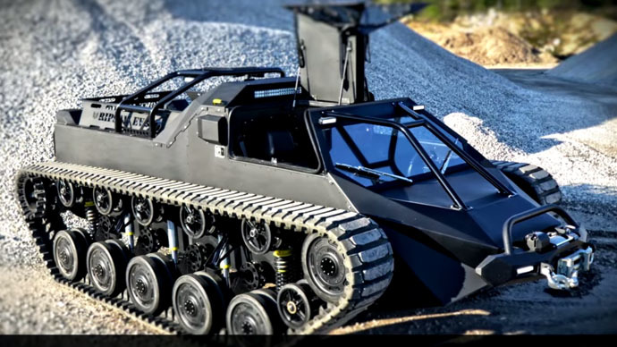 Tanks away: US company to sell handcrafted 'luxury' tanks