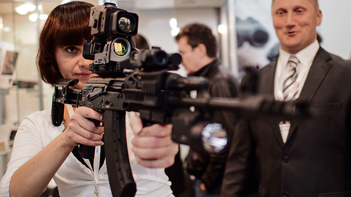 E-Rifle: New device connects Kalashnikov rifle to internet, GPS, GLONASS