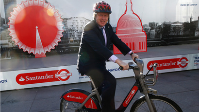 London mayor Boris Johnson (Reuters / Eddie Keogh)