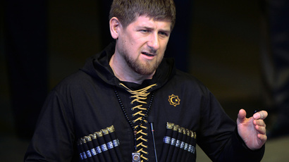 Head of Chechna Ramzan Kadyrov (RIA Novosti / Said Tsarnaev)