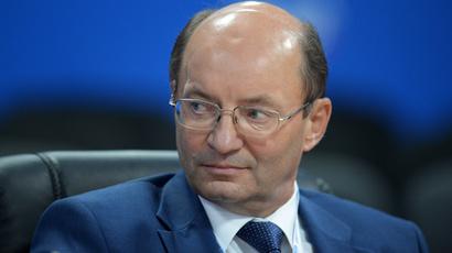 Russian Railways first vice-president Aleksandr Misharin (RIA Novosti / Mihail Mokrushin)