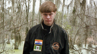 Dylann Roof (image from Dylann Roof Facebook page, posted May 21, 2015.)
