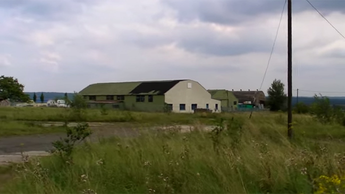 Abandoned Sembach Air Base (Screenshot from YouTube.com video by AbandonedKansaiVideo)