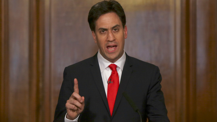 Ed Miliband (Reuters / Neil Hall)