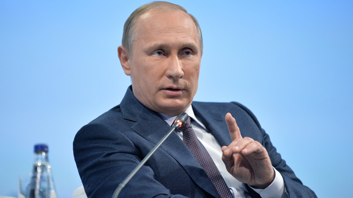 Putin: Russia is not aspiring to superpower status, just wants to be respected