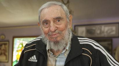 Fidel Castro in rare meeting, Venezuela's top official posts images (PHOTOS)