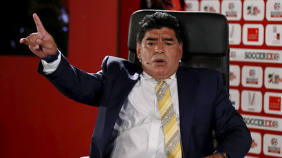 Football legend Maradona to run for next FIFA president - report