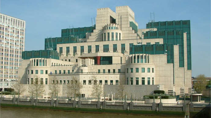 Secret Intelligence Service building. (Image from Wikipedia)