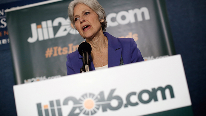 Green Party presidential nominee Jill Stein (AFP Photo / Win Mcnamee)