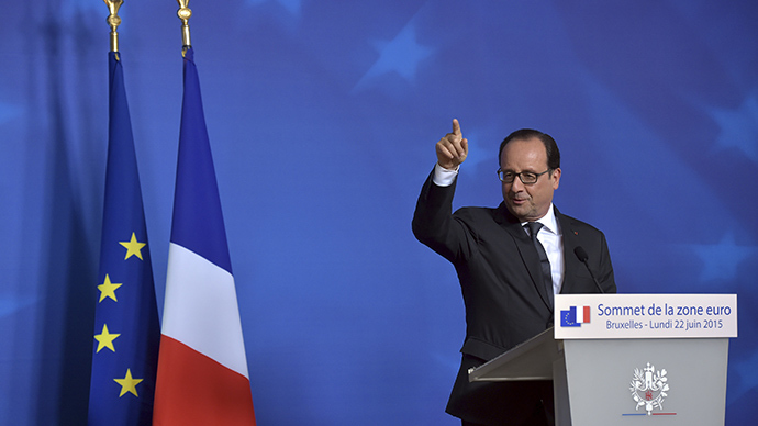 Leaked NSA intercepts: Hollande feared Grexit fallout, held secret meeting 'behind Merkel's back'