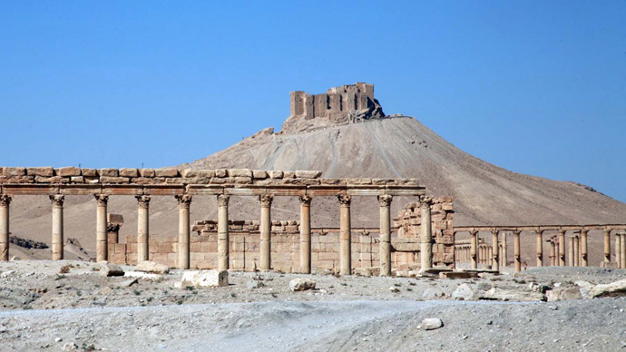 ISIS extremists blow up 2 historic shrines in Palmyra, Syria