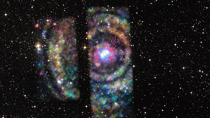 ​Cosmic colors: Astronomers use 'interstellar rainbow' to map distance to star system