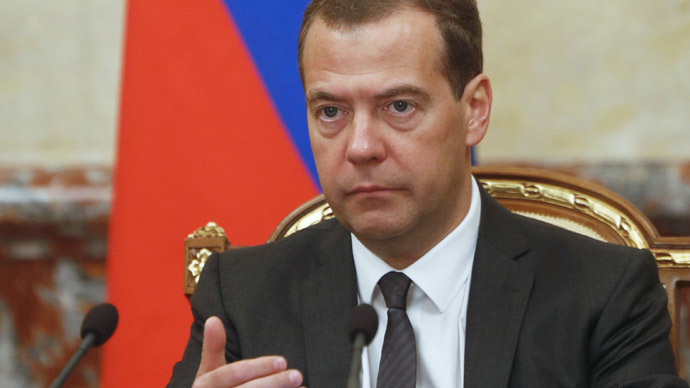 Medvedev signs food embargo extension until August 2016