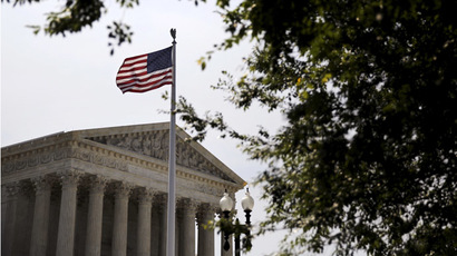 A general view of the U.S. Supreme Court building in Washington. (Reuters / Carlos Barria)