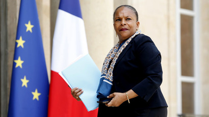 French Justice Minister Christiane Taubira (Reuters/Charles Platiau)