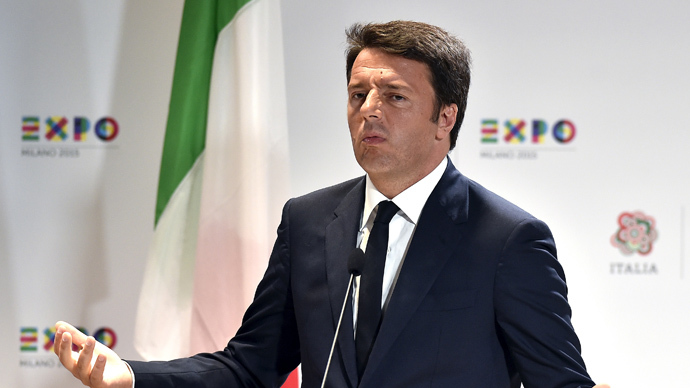 ​'Not worthy to call yourselves Europe': Italian PM attacks UK for rejecting share of migrants