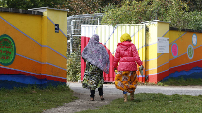 FILE PHOTO: A refugee camp in Germany.(Reuters / Michaela Rehle)
