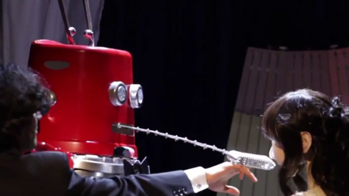 First-ever robot wedding takes place in Japan (VIDEO)
